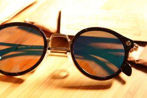 okulary w typie lenonki